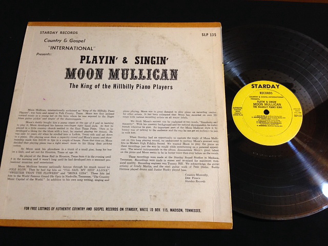 Moon Mullican Playin And Singin